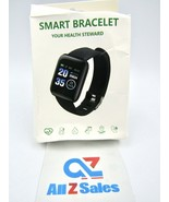 Smart Bracelet Watch Heart Rate Tracker Fitness Wristband For iPhone And... - $15.79