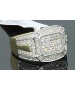 10K YELLOW GOLD FINISH 1.11 CARAT MEN DIAMOND ENGAGEMENT WEDDING PINKY R... - $108.68