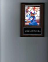 ANDRES GALARRAGA PLAQUE BASEBALL MONTREAL EXPOS MLB - $2.76