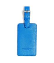 Campo Marzio Leather Luggage Tag (Blue) - $18.13