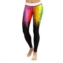Printed Women Sport Leggings High Push Up Yoga Pants Woman Gym Fitness R... - $16.70