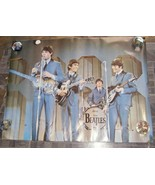 The Beatles Poster Panorama Décor printed in Holland undated - $28.99