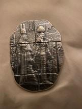 2 oz .999 fine silver Egyptian  relic bar with bag- Hathor - $89.09