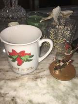 Festive Christmas Ornaments/ Figurine Set Of Misc - $11.52