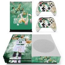 Boston Celtics decal xbox one S console and 2 controllers - $15.00