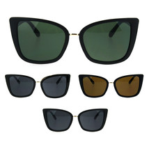Womens Oversize Cat Eye Designer Fashion Goth Diva Sunglasses - $12.95