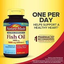 NM 1400mg Ultra Omega-3 Fish Oil Softgels - $41.69