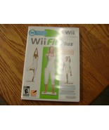Nintendo Wii FIT PLUS Workout Fitness Game, case and documentation - $14.75