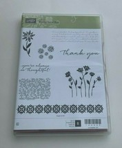 Stampin' Up! Hostess Background Bits Set of 8 Thank You Thoughtful - $19.75