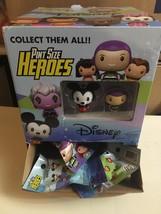 13x LOT w/Display Case Disney Funko Pint Size Heroes Vinyl Figures NEW U... - $47.51