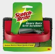 3M Scotch-Brite Heavy Multi-Use GRILL SCRUBBER Pad Cleaner BBQ Tools Bri... - $9.42