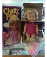 1983 Chatty Patty Doll NRFB MIB Mattel Talks Clearly - $84.15