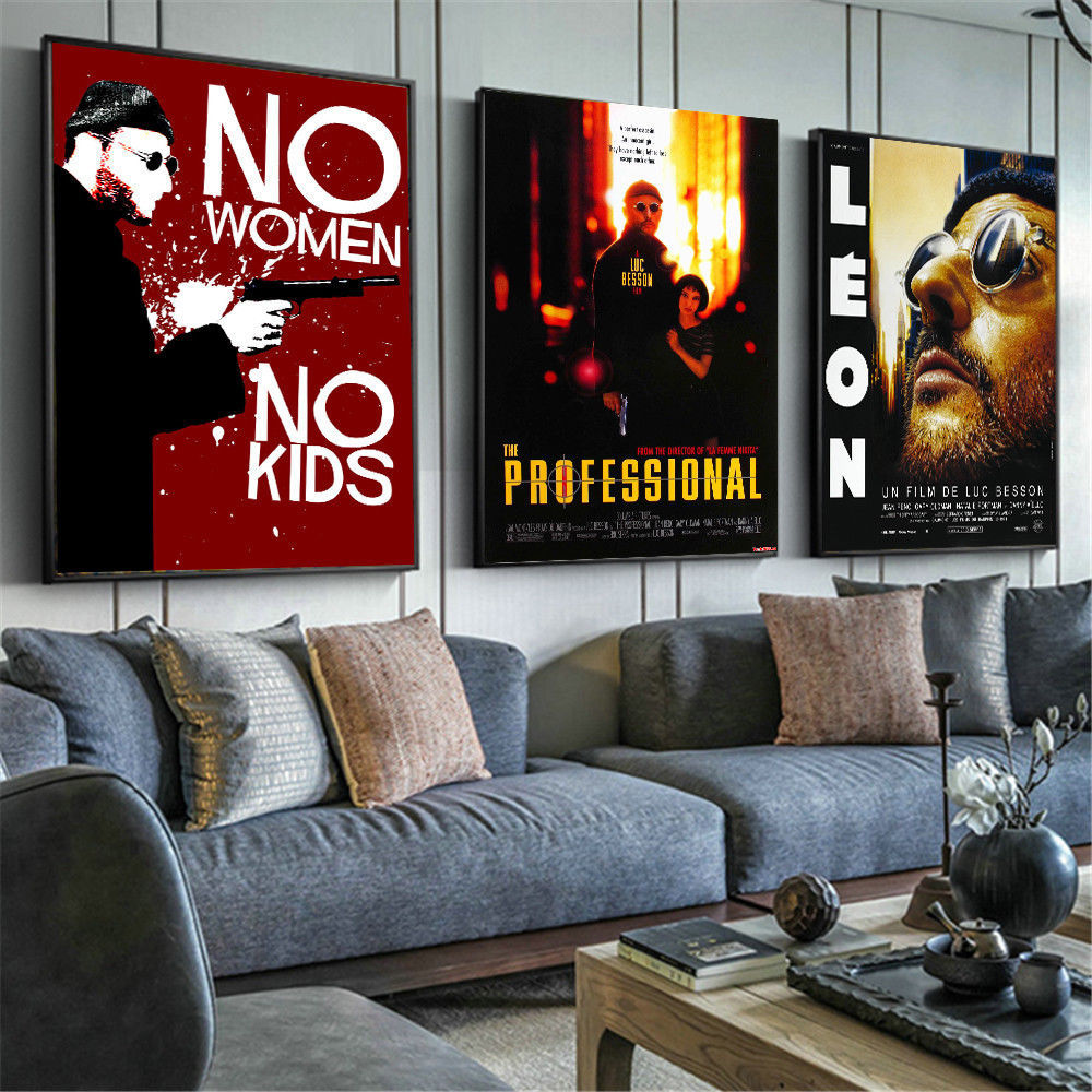 Set 7 Print Leon Movie Wall Poster Classic And 23 Similar Items