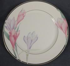 Mikasa Shasta LAB01 Dinner Plates (M2) Pink and Purple Flowers - $27.95