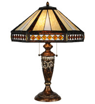 "26.5""H Diamond Band Mission Table Lamp - $798.00"