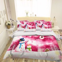 3D Christmas 330 Bed Pillowcases Quilt Duvet Cover Set Single Queen King Size AU - $64.32+