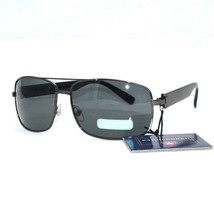 Rectangle Shaped Black Aviator Style Saddlebred Sunglasses 100% UVA/B Pr... - $13.95
