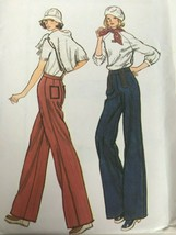 Vogue Sewing Pattern 9310 Misses Pants Vintage 1970s Retro Uncut Womens ... - $17.99