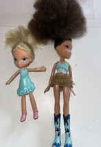 BRATZ Dolls Lot of 2 Dolls One blonde one brunette 2001 - $54.45