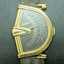 Vintage Jean d'Eve Sectora Swiss Men's Quartz Jump Hour Watch Original Band - $692.01