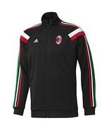 Adidas AC MILAN Anthem Track Top Jacket BLACK Soccer A.C Milan MEDIUM M ... - $89.95