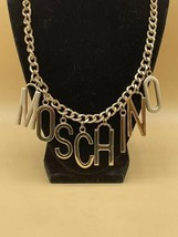 Vintage MOSCHINO Couture necklace - 1980s rare - $425.00