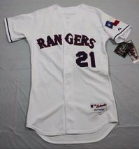 M17 New MAJESTIC Vintage Texas Rangers Milton Bradley Authentic Jersey MEN'S 40 - $188.09