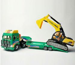Daesung Toys Melody Shovel Trailer Truck Forklift Car Vehicle Construction Toy image 9