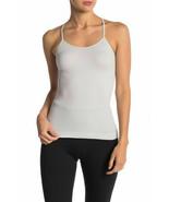 Free People Women Shine on OB822560 Activewear Top Slim Gray Size XS - $21.82
