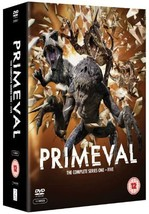 Primeval Series 1 2 3 4 5 Collection DVD Boxset **REGION 2 PLEASE READ L... - $37.95