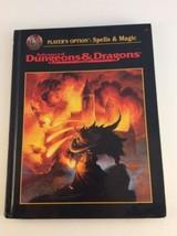 Player's Option Spells & Magic HC Dungeons & Dragons 1st TSR 2163 - $20.78