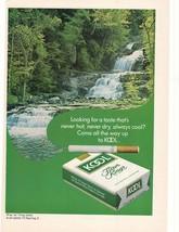 1972 Kool Filter Kings Cigarette Advertisement - $16.00