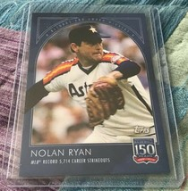 2019 Topps 150 Years of Baseball Nolan Ryan #4 Records and Award Winners - $6.95