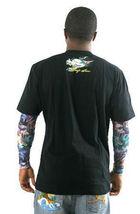 Kanji Premium Brand Mens Black Dragon Tattoo Art Long Sleeve T-Shirt L XL NWT image 3