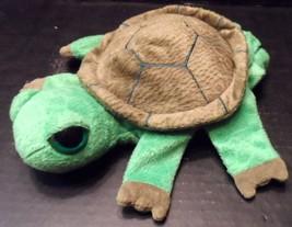 "Caltoy Puppet Turtle turtoise 9"" Hand Glove Stuffed Animal Unisex Play Toy  - $11.20"