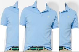 $90 Polo Ralph Lauren Men's Classic-Fit Short Sleeve Mesh Polo, Blue, Size XL. - $59.39