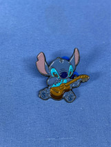DLRP Stitch Playing A Ukelele Euro Disney Pin Lilo Experiment 626 Paris Hawaiian - $19.99