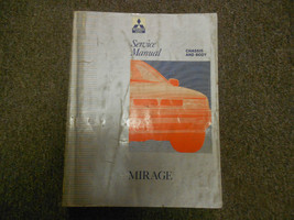 1992 MITSUBISHI Mirage Service Repair Shop Manual Volume 1 Chassis Body OEM 92 - $19.79