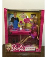 Barbie Doll X4933 Dinner Date Night Dining Room Set Brand New - $19.99