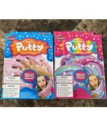 Slime Factory Unicorn Putty Kit Fluffy And Unicorn Set Of 2 - $17.81