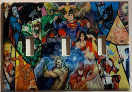 DC Superhero Super heroes Light Switch Power Outlet Wall Cover Plate Home decor image 6