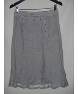 J Crew Side Button Skirt in Tahlia Stripe Size 2  $79 - $32.50
