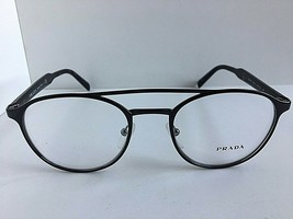 New PRADA VPR 6T0 DHO-1O1 49mm Round Brown Eyeglasses Frame - $189.99