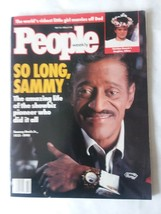 VTG People Magazine May '90 Sammy Davis Jr. Athina Onassis Bridgette Bar... - $13.36