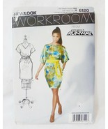 Simplicity New look sewing pattern 6120 from project runway size A 6-16 US - $4.93