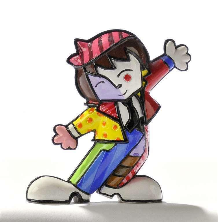 Romero Britto Mini Boy - Totah  Figurine #331391