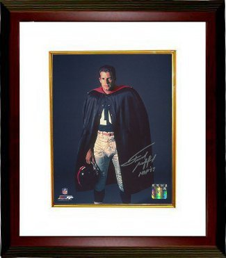 Primary image for Frank Gifford signed New York Giants 16X20 Photo HOF 77 Custom Framed (in cape)