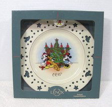 1997 Mickey Mouse Lenox Plate Trimming Trio w Mickey Mouse & Star Cut Outs  - $39.11