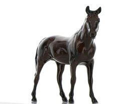 Hagen Renaker Miniature Horse Thoroughbred Race Citation Ceramic Figurine Boxed image 3