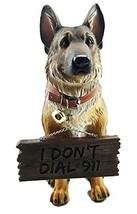 Pedigree Canine Guard Dog Unit German Shepherd Figurine With Jingle Coll... - $51.91